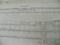 Image of Close up of Longitudinal Section of GCT Drawing, 1916