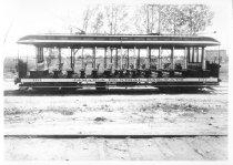 Image of Jamaica Central Railways Car #101, Cedar Manor Car House, 1926