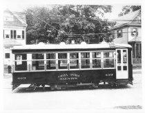 Image of Jamaice Central Railways Car #409, 1927