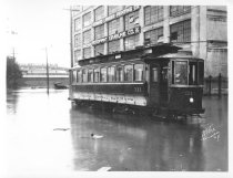 Image of Jamaica Central Railways Car #311, 184th St. and Jamaica Ave., 1928