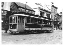 Image of Jamaica Central Railways Car #306 on 164th St., June 1933