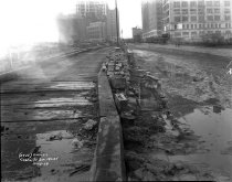 Image of Canal Street Roadway and Bridging on the 8th Ave IND, New York, NY