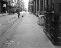 Image of Construction of subway on Church Street, New York, NY