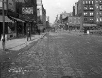 Image of Construction on Bleecker Street, New York, NY