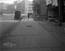 Image of Construction on Carmine Street, New York, NY