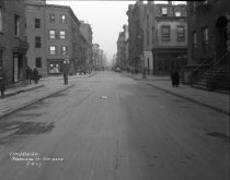 Image of Subway construction on MacDougal Street, New York, NY