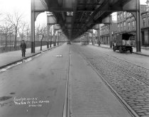 Image of Roadway Conditions Along Fulton Street: IND Fulton Line
