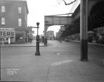 Image of Sidewalk Conditions Along Fulton Street, Brooklyn, NY