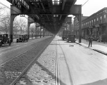 Image of Roadway Conditions Along Fulton Street, Brooklyn, NY