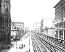 Image of Eighth Street and Sixth Avenue, 6th Avenue Elevated Line, NY, NY