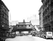 Image of Park Place and Church Street, 6th Avenue Elevated Line, NY, NY