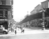 Image of Murray Street and West Broadway, 6th Avenue Elevated Line, NY, NY