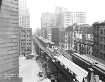 Image of Chambers Street & West Broadway, 6th Avenue Elevated Line, NY, NY