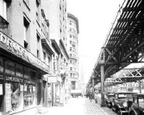 Image of North Moore Street & West Broadway, 6th Avenue Elevated Line, NY, NY