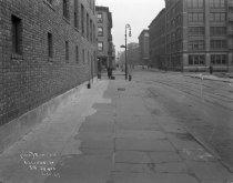 Image of Construction of subway on Sullivan Street, New York, NY