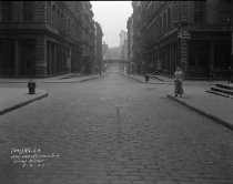 Image of Leonard Street at Church Street, Manhattan, NY