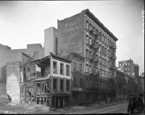 Image of Sullivan Street, at north of Broome Street: IND Eighth Avenue Line, NY