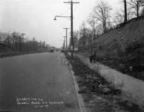 Image of Queens Boulevard Sidewalk and Roadway, Queens, NY