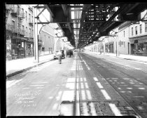 Image of Fulton Street Looking West Toward Ralph Avenue: IND Fulton Line, Brooklyn,