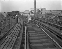Image of IRT Track at Jerome Avenue, October 7, 1929.