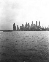 Image of Lower Manhattan, no date.