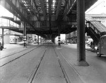Image of McDonald Avenue and Ditmas Avenue, Brooklyn, NY, December 14, 1949