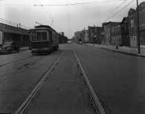 Image of Trolley on West End Avenue line in Coney Island, Brooklyn, NY