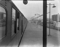 Image of Kings Highway Station, Brighton line, Brooklyn, NY, October 13, 1943