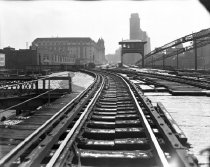 Image of BMT Brooklyn Bridge Connection Line, Manhattan, NY, February 16, 1943