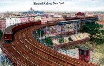 Image of Elevated Railway, New York