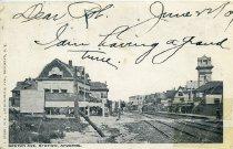 Image of Gaston Ave. Station, Arvene, L.I.