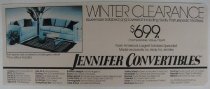 Image of Jennifer Convertibles Winter Clearance Sale