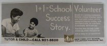 Image of Advertisement to Become a School Volunteer Tutor