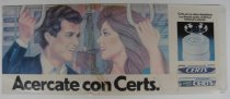 Image of Certs advertisement in Spanish