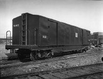 Image of BMT baggage car, Coney Island Yard, Brooklyn, NY, between 1923 and 1940