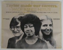 Image of Advertisement for Taylor Business Institute