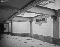 Image of 23rd St. Station, IRT East Side Line, Manhattan, NY, March 20, 1904
