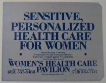 Image of Advertisement for The Women's Helath Care Pavilion