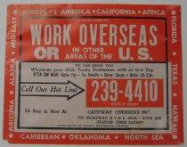 Image of Work Overseas