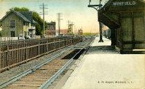 Image of R.R. Depot, Winfield, L.I.