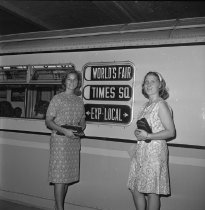 Image of World's Fair Times Square & Willets Point Visitors
