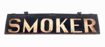 Image of Sign for smoker car