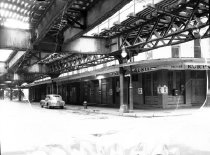 Image of Ninth Avenue Elevated Structure at Greenwich St. & Chambers St.