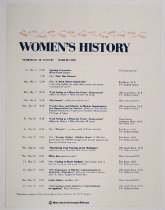Image of Women's History Month