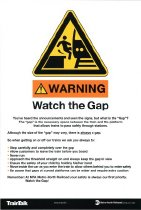 Image of Watch the Gap