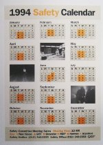 Image of Safety Calendar