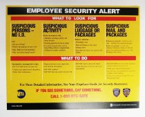 Image of Employee Security Alert