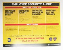 Image of Employee Security Alert