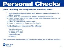 Image of Personal Checks