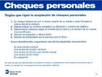 Image of Personal Checks